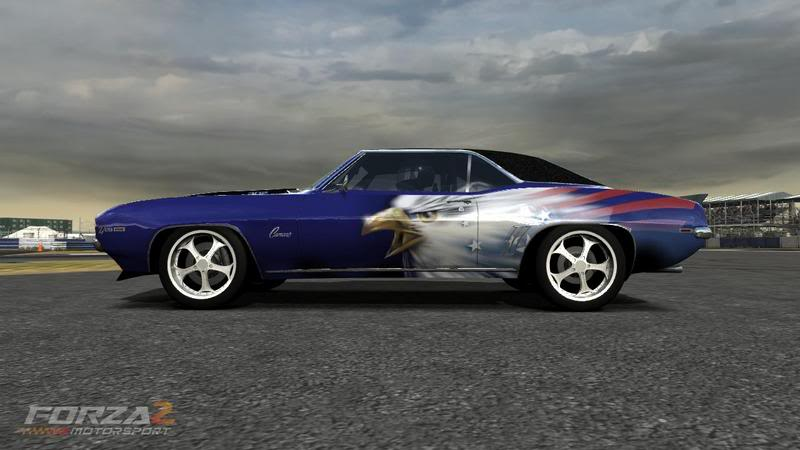 Cool 69 camaro with eagle graphics camaro pictures