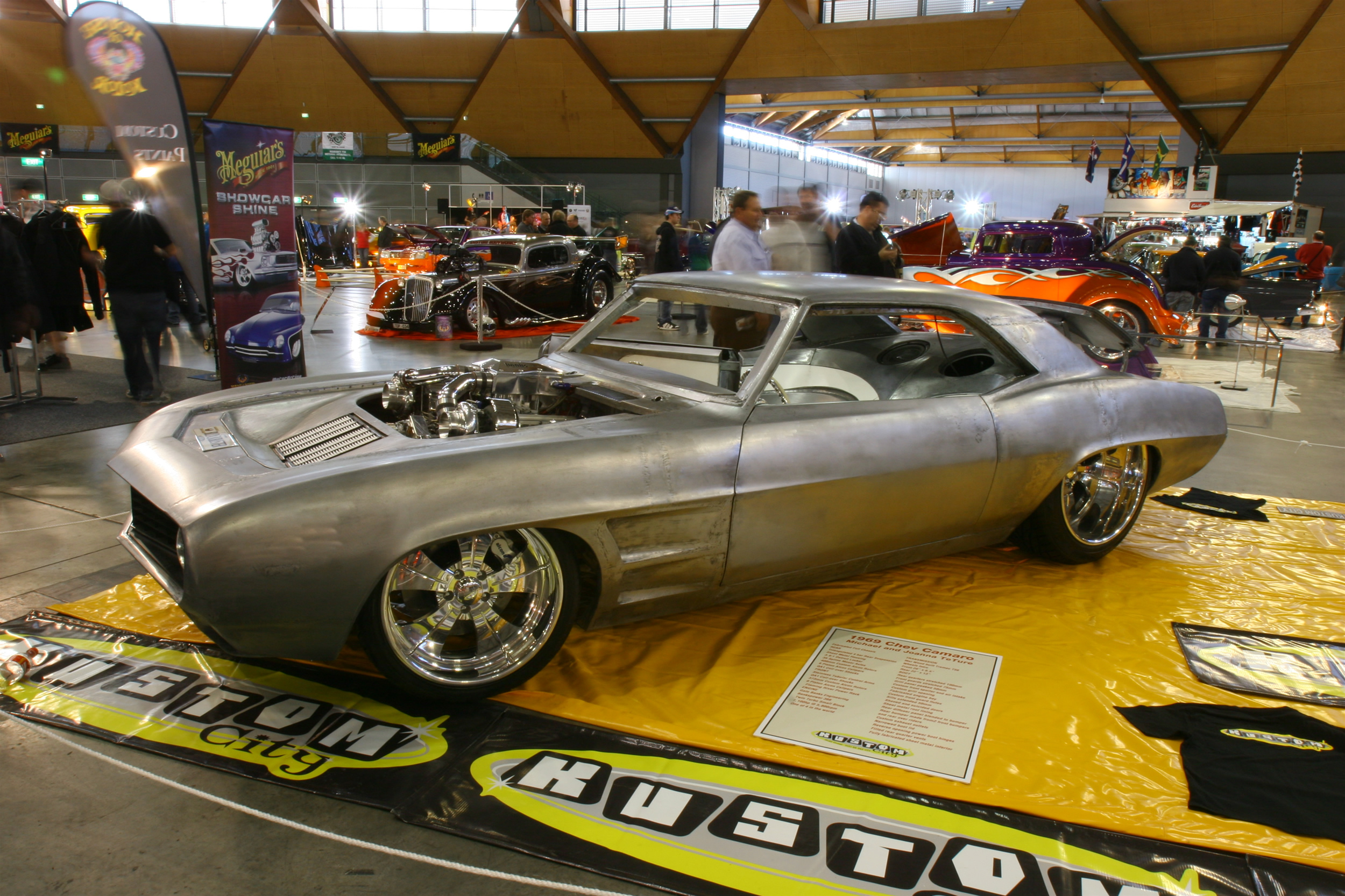Http Camaropictures Com Heavily Customized 1969 Camaro