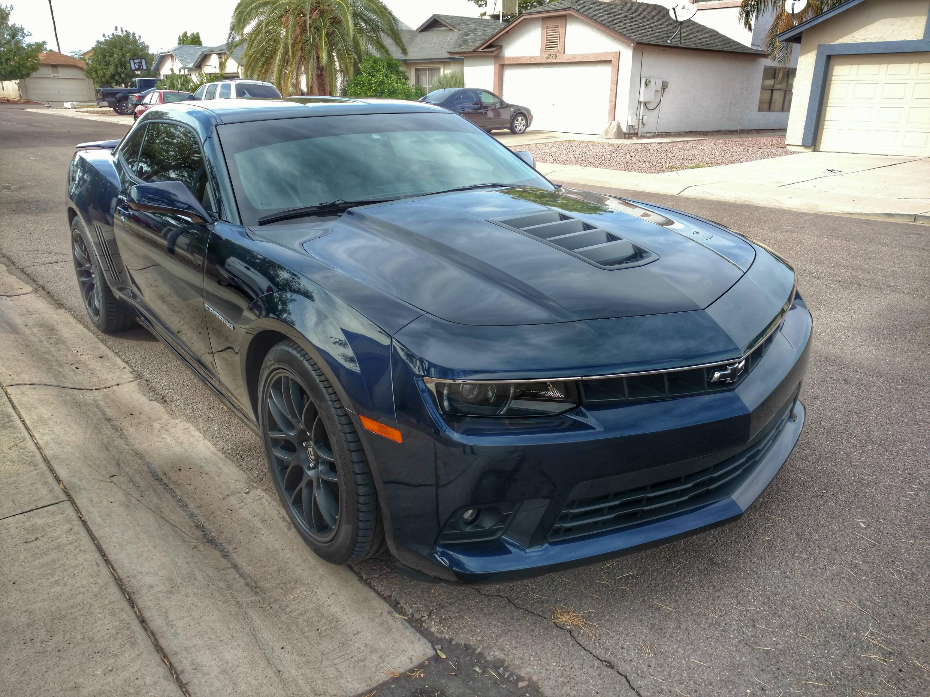 Blue 2015 Chevy Camaro Ss Camaro Pictures